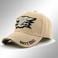 active navy seals - Hot hot hot Navy SEAL Men black hiphop snapback caps army baseball caps baseball cap adjustable cheap big size for men