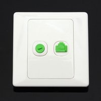 best tv mounts - New Arrival Best Price Electric RJ45 Network TV Aerial Socket Wall Mount Coaxial Outlet Plate Panel Super Quality