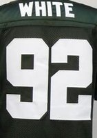 authentic throwback football jerseys - Discounts Reggie White Jersey Football Throwback Jersey Best quality Authentic Jersey Size M XXXL Accept Mix Order
