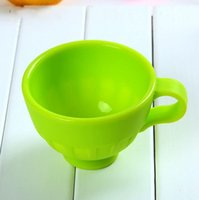 Wholesale Silicone Baby Cup Never Fall Apart High Temperature Durability Odor Microwave Oven Coffee Cup Silicone Mug