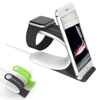 Wholesale New Apple Watch Stand Multi Function Holder Charging Dock Charger Station For iPhone Tablet Pad Watch Stand For iPhone