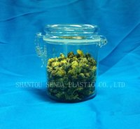 acrylic candy containers - buckle sealing jar plastic container with buckle cover ml acrylic bottle