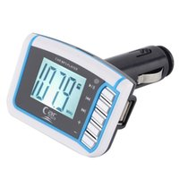 Wholesale Remove Control SD TF Card inch LCD Wireless FM Transmitter Car MP3 Player car audio car stereo