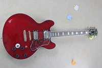 Wholesale high quality New Musical Instruments best position Switch Red Electric Guitar