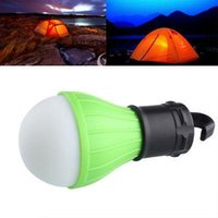 Wholesale DHL Outdoor Hanging LED Camping Hiking Tent Light Bulb Fishing Lantern Lamp Gear Portable Lanterns ZJ L01