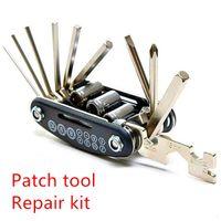Wholesale Patch tool Repair kit Bike Tools screwdriver wrench set C