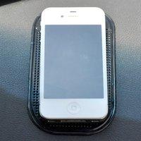 bathroom textiles - Portable Car Mat Magic Sticky Pad Silicone Antiskid Mat Non Slip Mat for Mobile Phone PDA mp3 mp4 Key Car Accessories
