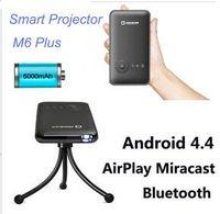 band tripod - New M6 Android DLP LED Projector Smart TV Box XBMC G GB Miracast DLNA G G Dual Band WiFi Bluetooth HDMI Free Tripod DHL