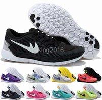 2016 Nuevo estilo de recorrido libre 5.0 + 2 zapatos corrientes de las mujeres para hombre, de alta calidad de los hombres de recorrido libre de las zapatillas de deporte del deporte atlético 5.0 capacitadores 36-45