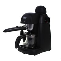 Wholesale Espresso Cappuccino Machine semi automatic steam milk foam coffee machine Electric coffee makers cafe maker machine V to V W