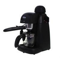 Wholesale Espresso Cappuccino Machine semi automatic steam milk foam coffee machine Electric coffee makers cafe maker machine V to V W
