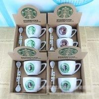 Wholesale ceramic tea cups starbucks ceramic cup coffee mugs starbucks cups mugs A93