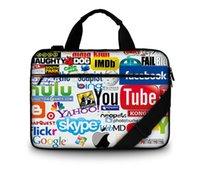 acer custom - custom picture Newest stylish cotton soft Canvas handle laptop bag notebook case bag for macbook hp acer lenovo etc