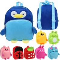Wholesale New Arrivals Kids Children Doll Toy School Bag Backpack Soft Plush Cartoon Cute Lovely Size CM BX147