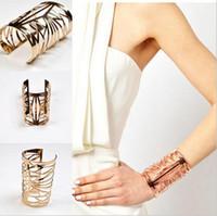 decorative tin - New fashion Hollow out meltic bracelets Decorative pattern bracelets pandora bracelets for women open charm bracelets