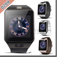 altitude watch - Smartwatch DZ09 Grade A Bluetooth Smart Watch GT08 U8 For Apple Samsung IOS Android Cell phone inch SIM Card Free DHL