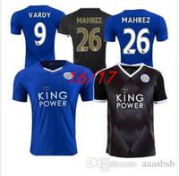 Wholesale 2016 White mahrez Jersey Leicester City Premier League jerseys from the Blue House Leicester Vardy Okazaki station ULLOA Mayo