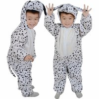 animal party theme - Children Halloween Cosplay Costumes Performance Spotted Dog For Kids Girls Boys Animal Costume Cosplay Party Theme Stage Performance