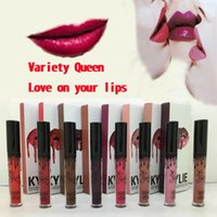 Wholesale New Stocking KYLIE JENNER LIP KIT Kylie Matte Liquid Lipstick Lip Liner Kylie lip Velvetine Makeup set lipstick lipliner
