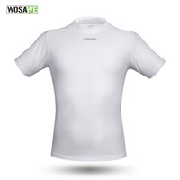 Wholesale WOSAWE Tour De France Cycling Jersey Short Sleeve Summer Sport Under Shirts Fitness Trainning Exercise T Shirts Cycling Clothing