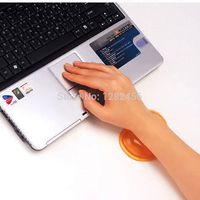 Wholesale Multiple Mouse Pad Translucence Gel Wrist Rest Keyboard Soft Wrist Rest Pad Orange Mouse Pads Cheap Mouse Pads