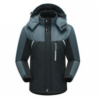 Wholesale new Men thick velvet windproof waterproof fishing jacket winter outdoor sports lovers Jackets women climbing