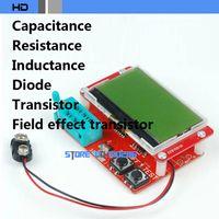 Cheap Graphic Display Transistor tester Resistance Meters Capacitance meter Inductance meter Diode Transistor FET Test