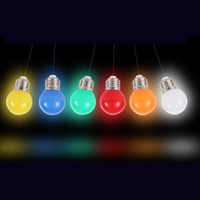 Wholesale LED light bulb color E27 lo W small light bulb outdoor decorative indoor air colorful lighting Christmas lights LK05