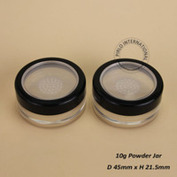 Wholesale 2016 excellent Make Up Tools g Plastic Cosmetic Jar Empty Loose Powder jars With Sifter