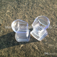 Cheap Wholesale-Nice Noise Reduction Ladies Clear High Heel Stoppers for Shoes
