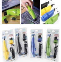 Wholesale MINI USB Vacuum Cleaner Dust Collector Brush for Computer Laptop PC Keyboard