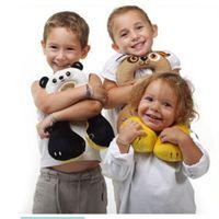Wholesale Travel neck pillow u shaped pillow infant child car seat pillow safe Coral fleece protect