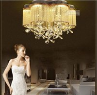 Wholesale Modern LED crystal lamp crystal chandelier lamp living room dining room chandelier lighting factory direct