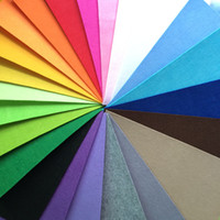 acrylic sheet thickness - Eco friendly mm Thickness Non Woven Fabric Felt X cm Sewing DIY Patchwork Tissu Color Sheet feltro