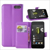 amazon cell phones - Cell Phone Case for Amazon Fire Phone PU Leather Case Wallet Slot Case Protective Shell Cover