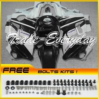 Cheap ABS Fairing Kit Fit CBR600 F2 1991-1994 CBR 600 91-94 White Black ZN1190