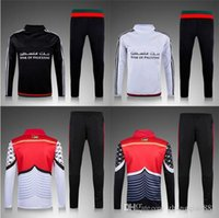 Wholesale 2016 survetement football jogging Palestine Football Training Suits Chandal Soccer TrackSuit Palestinian sport suits
