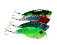 Metal  Baits crappie jigs - HENGJIA Fishing Lure Blade Lure Metal VIB Hard Bait Fresh Water Shallow Water Bass Walleye Crappie Minnow G Fishing Tackle VIB017
