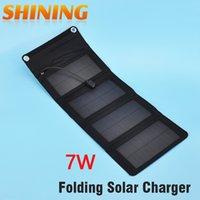 Wholesale Convenient W Portable Folding Solar Charger For Mobile Phone Foldable Solar Panel Battery Charger For Cellphone Mobile Phone