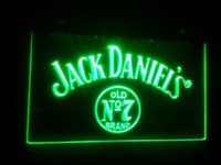 Wholesale b Jack Whiskey bar beer pub LED Neon Sign signs in the making sign holder for wall