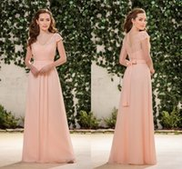 big purple button - Champagne Lace Party Dresses Capped Sleeve V neck Bottons Back A Big Bow Behind Cheap Price Occasion Gown