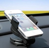 Wholesale sale degree spin Car Windshield Mount cell mobile phone Holder Bracket stands HIgh Quality