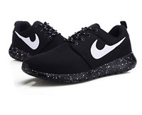 Wholesale 20167 Casual Shoes Air Roshe Runn Shoes for Men Women Black White Roshe Runn Men Women Casual Shoes Breathable Shoes