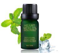 al por mayor body oil massage-La menta de hierbas aromáticas compuesto antibacteriano aceite esencial de aromaterapia natural de la piel de la muchacha aceites corporales de belleza spa de masajes