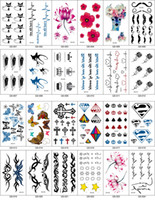 art leg - Temporary Tattoo Sexy Body Art Tattoos Fashion High Quality Male Female Tattoo Stickers Cute Tattoo Paste Styles TA003