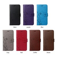 acer gel - For HTC One A9 M9 Acer Z330 Z530 Z5 Flower Butterfly skin Flip Stand holder card Wallet leather case cover TPU Gel cases