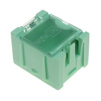 Wholesale New Green High Quality SMD SMT Electronic Component Mini Storage Box Removal can be spliced tools BOX