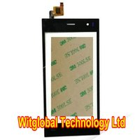 Wholesale Free M Tape New For Wexler Zen New Black Touch Screen Panel Sensor Glass Digitizer Replacement