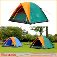Wholesale Top Brand Quality Double Layer Person Rainproof Ourdoor Camping Tent for Hiking Fishing Hunting Adventure Picnic Party