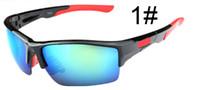 al por mayor gafas de sol baratas-Las gafas de sol al aire libre de la manera de las gafas de sol al aire libre de Sunglass del sprot Sun de los hombres del verano 7colors nuevas que completan un ciclo las gafas de sol de la visión nocturna del montar